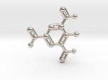 TNT Molecule Keychain Necklace