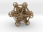 The full 3d Metatrons Cube 59mm Sacred Geometry
