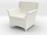 1:48 Wicker Armchair