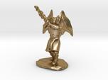 Dragonborn Duskblade in Robe with Greatsword