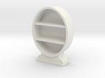 1:48 Oval Bookcase