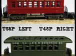 "T45p x8 N scale offset ""V&T"" 5' truck for Overton"