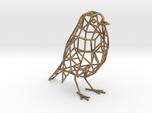 Bird wireframe (thicker wireframe)