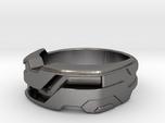 US11 Ring XXI: Tritium (Stainless Steel)