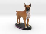Custom Dog Figurine - Remmie