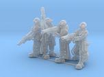 Female Stealth Gang with Laser Rifles