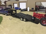 1/64 GOOSENECK EQUIPMENT TILT TRAILER