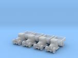 6mm 1/285 ZIS-5 trucks