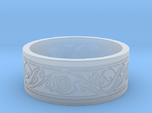Viking Swirled Linework Ring