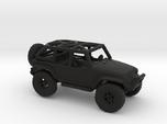Jeep Rubicon JK 1/100 Scale