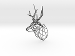 Wired Life Stag Deer Trophy Head Large Facing Righ