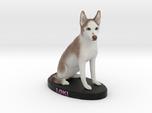 Custom Dog Figurine - Loki