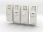 SlimCash 200 ATMs x4, HO Scale (1:87)