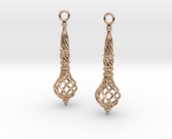Bound Coil Earrings