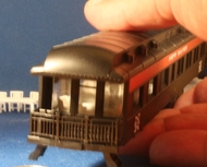 Athearn Pullman Observation car interior HO Scale