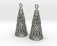 Filligree Cone Earrings