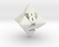 Hextrapyramidical d8