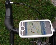 iPhone 4 bike mount assembly 1
