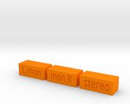 Quad 33 Buttons Marigold