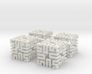 4 Springy Cubes