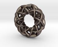 3 strand double mobius charm bead