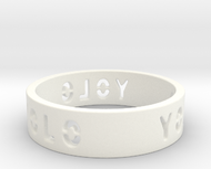 YOLO TYPE 1, Size 4.5 Ring Size 4.5