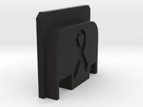 Bbu Backplate Ribbon in Black Strong & Flexible