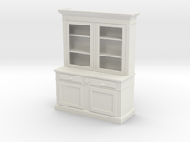 1:24 Hutch (NOT FULL SIZE) in White Strong & Flexible