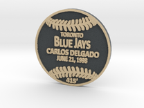 Carlos Delgado in Full Color Sandstone