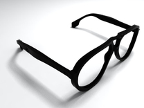 aviator styled glasses - basic edition in Black Strong & Flexible
