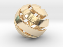 Ball-10-2 in 14K Gold