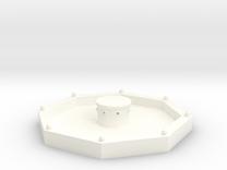 Stadtbrunnen (1/220) in White Strong & Flexible Polished