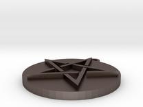Pentagram Pendant in Stainless Steel
