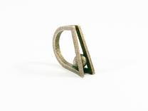 Peekaboo Ring in Stainless Steel