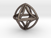 Double Octahedron in Stainless Steel