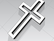 Stylish Affordable Cross Jewelry in White Strong & Flexible