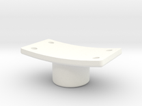 Supporto Perno Cupola in White Strong & Flexible Polished
