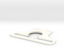NEODiVR-PLAy-iPhone6+-SSensor-LeftArm in White Strong & Flexible Polished