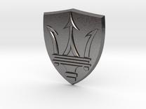 Maserati in Polished Nickel Steel