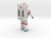 Spaceman--moonwalker-76mm-color---20141024--003d in Full Color Sandstone