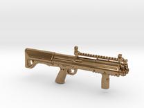Kel-tec Ksg 12gauge Shotgun Keychain-2 in Raw Brass