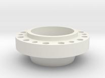 Wheel Hub for AR eGyro in White Strong & Flexible
