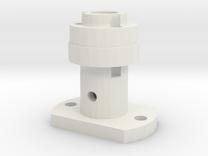 Motormount for AR eGyro in White Strong & Flexible