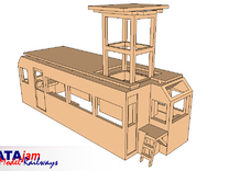Drewry Overhead Inspection Vehicle - N Gauge 1:148 in Frosted Ultra Detail