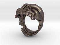 Reaper Skull Bottle Opener Ring size 13 in Stainless Steel