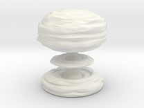Huge Mushroom Cloud 30cm / 12in in White Strong & Flexible