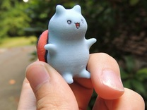 """Catbug - 1"""" tall in Full Color Sandstone"""