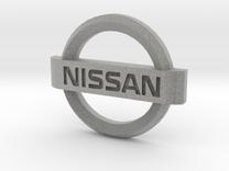 Nissan Flipkey Logo Badge Emblem in Metallic Plastic