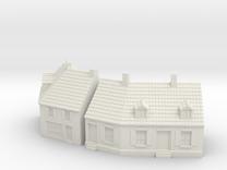 1:285 Cornerhouse 3-4 in White Strong & Flexible