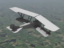 Lohner B.VII (Unarmed) in White Strong & Flexible: 1:144